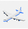 delivery plane icon isometric style vector image