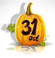 Halloween October 31 Background vector image vector image