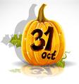 Halloween October 31 Background vector image
