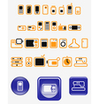 Home electronics vector image vector image