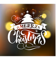 Lettering Merry Christmas for ChristmasNew Year