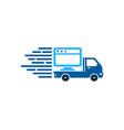 online delivery logo icon design vector image vector image