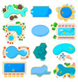 pool icon blue water poolside hotel vector image vector image