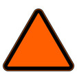 road sign isolated on white editable graphic vector image