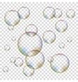 Set of Colorful Bubbles vector image