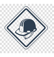 silhouette icon safety and health vector image vector image