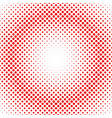 simple abstract halftone dot background pattern vector image vector image