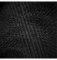 Black dragon skin background realistic squama vector image