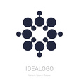 Abstract Logotype logo design element or icon vector image vector image