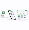 banking app ui ux kit mobile app
