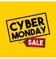 cyber monday sale commerce vector image
