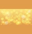 golden bokeh background gold bokeh magic vector image