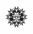 helios god sun vector image