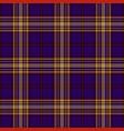 tartan seamless pattern background black red vector image vector image