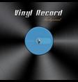 vinyl record background vector image vector image