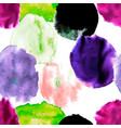 watercolor blots seamless vector image