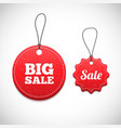 3D Price tags vector image vector image