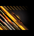 abstract gold geometric light circuit with black vector image