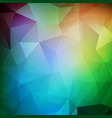 abstract polygonal background futuristic design vector image