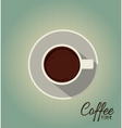 Coffe time vector image