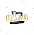 Happy merry christmas vector image vector image