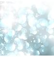 Lights on blue grey background vector image