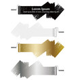 set paint roller abstract design elements vector image vector image