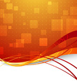 Transparent abstract high-tech background for web vector image vector image