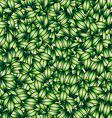 green leaves design elements vector image