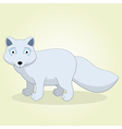 Arctic fox vector image vector image