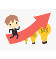 bussiness idea vector image