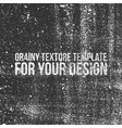 grainy texture template for your design vector image vector image