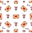 handdrawn seamless pattern for Saint vector image vector image