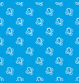 mobile money pattern seamless blue vector image vector image
