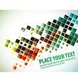 mosaic design vector image