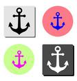 Anchor flat icon