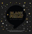 banner sale of 50 off black friday vector image