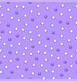 cute seamless simple pattern with violet and vector image vector image