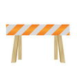 dead end traffic sign vector image vector image