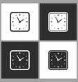 deadline time icon pictograph for graphic vector image vector image