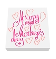 Greeting card for Mother Day cartoon icon vector image vector image