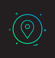 Location basic icon design