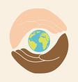 multiethnic community vector image vector image