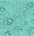 paris lettering over vintage floral background vector image vector image