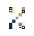 pixel art percent mark colorful symbol consist of vector image vector image