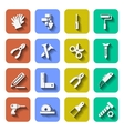Tools Icons With Shadows Vol 2 vector image vector image