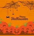 background happy halloween vector image