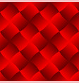 3d curve tile seamless pattern red 003 vector image vector image