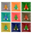 assembly flat shading style Christmas vector image vector image