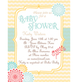 Baby-Shower Soft-Waves vector image